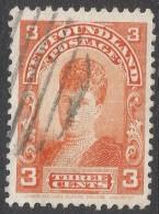 Newfoundland. 1897-1918 Definitives. 3c Used SG 88 - Newfoundland