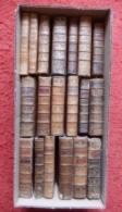 LOT DE 19 RELIURES XVIII° RELIGIEUX - Books, Magazines, Comics