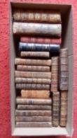 LOT DE 20 RELIURES XVIII° RELIGIEUX ET DIVERS - Books, Magazines, Comics