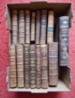 LOT DE 15 RELIURES XVIII° RELIGIEUX ET DIVERS - Books, Magazines, Comics