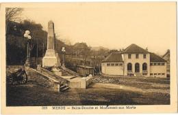 MENDE (48) Place Bains Douche Et Monument Aux Morts - Mende