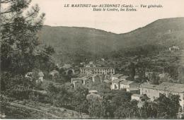 Le Martinet-sur-Auzonnet - Vue Générale. Dans Le Centre Les Ecoles - Other Municipalities