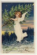 ENGEL, ANGEL, ANGE ,  - Fröhliche Weihnachten,  1901 - Angels