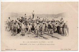 Algérie, Légion étrangère : Béni Ounif - A L'arrivée Du Wagon Citerne - Argelia