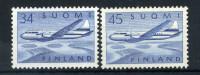 1958-59 FINLANDIA SERIE COMPLETA ** POSTA AEREA A5-A6 - Posta Aerea