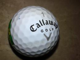 Alt868 Golfbal Golf Ball Balle De Golf Pallina Palla Golfball Callaway Carlsbad CA Merchandising Logo Accessorio Sport - Habillement, Souvenirs & Autres