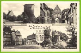 SALZWEDEL - Mehrbildkarte Echt Foto - Salzwedel