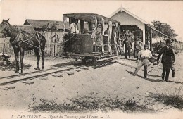 Cap Ferret Départ Du Tramway Pour L'océan - Francia