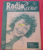 Radio Revue No 3  Année 1947 - Livres, BD, Revues