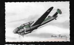Bloch 174 - Triplace De Bombardement Et De Combat Vitese 520 Km/ H - Illustration Signée André Régnier  Hat113 - 1939-1945: 2de Wereldoorlog