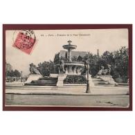 Paris   Fontaine De La Place Daumesnil  191  Royer Nancy - Statues