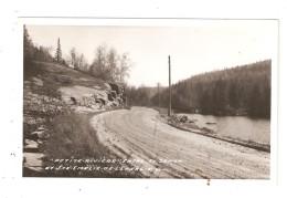 CPA SAINTE EMELIE L´ENERGIE ( Matawinie ) Petite Rivière St Zenon & Ste Emelie L'Energie Route Cours D'eau   Peu Commune - Quebec