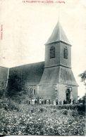 N°49076 -cpa La Villeneuve Au Chêne -l'église- - Frankreich
