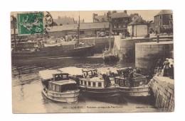 LORIENT   Vedettes Arrivant De Port-Louis - Lorient