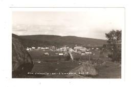 CPA SAINTE EMELIE L´ENERGIE ( Matawinie ) Vue Générale : Ville Champs Collines    Peu Commune - Quebec