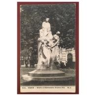 Paris  Statue D' Alexandre Dumas Fils  650  MJ - Statues