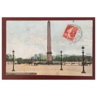 Paris  L' Obélisque De La Place De La Concorde - Statues
