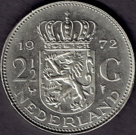 Netherlands 2½ Gulden 1972 - [ 3] 1815-… : Koninkrijk Der Nederlanden