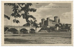 Vignola, Modena, 1925, Castello Medioevale Principe Boncompagni. Prima Tiratura Della Scritta Anteriore. - Modena