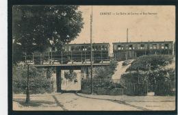 ERMONT - La Halte De Cernay Et Rue De Sannois (train) - Ermont