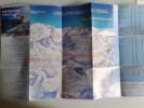 Alt879 Ski Area Pocket Map Mappa Piste Sci Impianti Risalita Skilift Cablecar Adamello Ponte Di Legno Passo Tonale - Sport Invernali