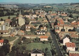 Carte 1970 VALENCE D'ALBI / VUE GENERALE AERIENNE - Valence D'Albigeois