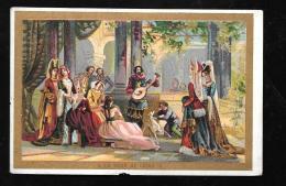Chromos  - A La Cour De Louis IX  - Moka Leroux  - MANQUE SUR UN BORD - Hat130 - Tea & Coffee Manufacturers