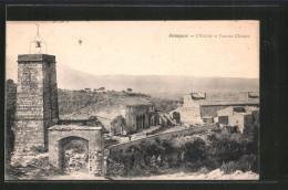 CPA Jouques, L'evêché Et L'ancien Château - France