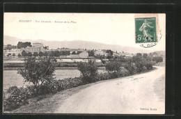 CPA Rousset, Vue Générale, Avenue De La Mine - Rousset
