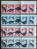 RUSSIE - Ex URSS 20 Valeurs OISEAUX, BIRDS ** Emis En 1995. Serie Neuve Sans Charniere. (MNH) - Gallinacées & Faisans
