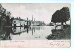 10137 Cpa VILVORDE  : Précurseur ,  Vue Des Trois Fontaines   1903 - Vilvoorde