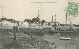 17 ILE DE RE PORT DE LOIX - Ile De Ré