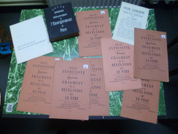 Culte Antoiniste. Ensemble De 10 Publications. Jemeppe-sur-Meuse - Livres, BD, Revues