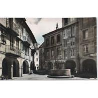 LGOTP8262CPA-LFTD2046TARSC.Tarjeta Postal De LUGO. Edificios.soportales.FUENTE Y CALLES DE LUGO - Edificios & Arquitectura
