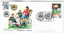 Football World Championship 1994 USA Match Germany - Spain - World Cup
