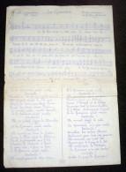 La Garonne - Partition Musicale Avec Paroles En Patois - état Correct - Bien Lire Descriptif - Partitions Musicales Anciennes