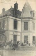 09 LEZAT SUR LEZE  Château Du Biac Hôpital Temporaire   2 Scans - Lezat Sur Leze