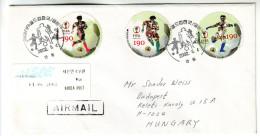 Football World Championship 2002 South Korea Japan,  Letter To Hungary - Wereldkampioenschap