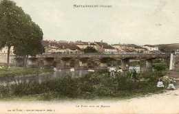 CPA - MATTAINCOURT (88) - Aspect Du Quartier Du Pont Sur Le Madon En 1906 - France