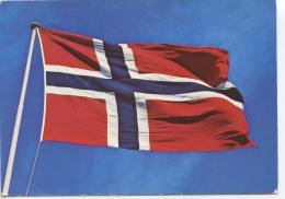 Norway : Drapeau (n°6118/6 Ed Kort) - Norwegen
