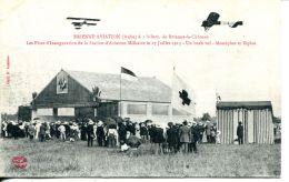 N°49106 -cpa Brienne Aviation -inauguration De La Station Militaire- - Aerodromes