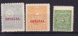 PARAGUAY - N°Y&T - Lot De 3 TP Différents - Taxe Et Service   - Tous N** - Paraguay