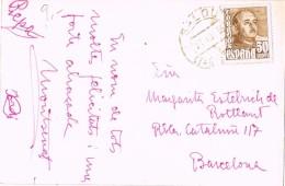 17384. Postal SALOU (Tarragona) 1955. Lazareto Y Al Fondo Salou Y La Playa - 1931-Hoy: 2ª República - ... Juan Carlos I