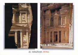 1 AK Jordanien Jordan * Berühmteste Bauwerk Petras Das Khazne - Erbaut Im 1. Jh. - Seit 1985 UNESCO Weltkulturerbe - Jordanien