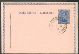 Collection LE HAVRE Ste ADRESSE - E.P. Carte-lettre. 25 Centimes Em. 1915 Obl. Sc LE HAVRE (SPECIAL) 19-X-1915 - 11002 - Other Covers