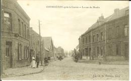 CPA   COURRIERES, La Rue Du Moulin  12833 - Francia