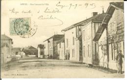 CPA   LOUZE, Rue Lencens La Ville  12838 - Other Municipalities