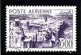 MAROC 1951 - Poste Aérienne - PA N° 82 - Oblitéré (2 Scans) (Lot 1) - Airmail