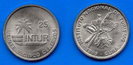 Cuba 25 Centavos 1989 Convertible InturNeuf UNC Skrill Paypal Bitcoin OK - Cuba