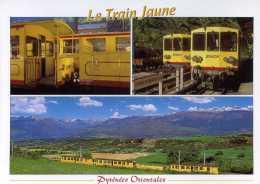 CPM - Villefranche De Conflent - Le Train Jaune - Francia